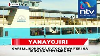 Mkasa wa Likoni: Gari lililozama baharini Likoni laonekana