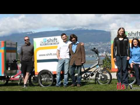 Young entrepreneurs embrace worker co-op model in environmentally friendly delivery business