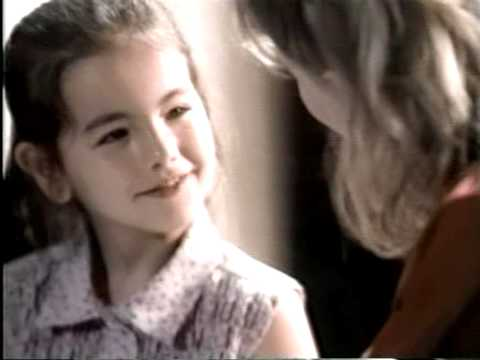 Camilla Belle commercial. Age 7