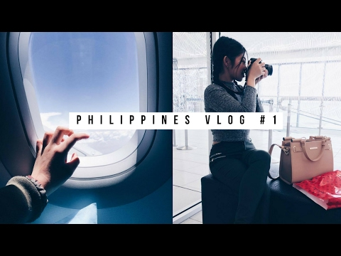 PHILIPPINES VLOG #1 | Going to Philippines!