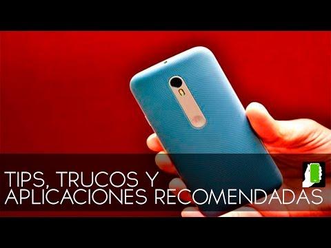 MOTOROLA G 3ra GENERACION Y TURBO  Tips, Trucos Y Aplicaciones Recomendadas Para ANDROID HD