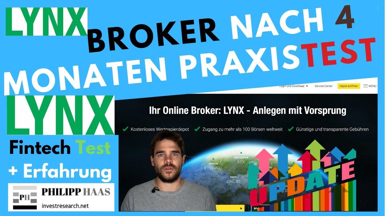 Lynx Broker Erfahrung