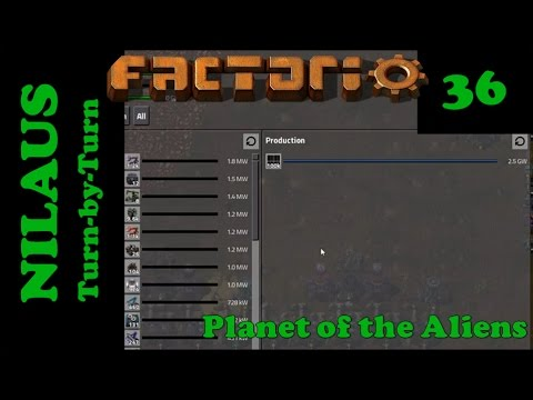 Lets Play Factorio S5E36 - 100,000 Solar Panels and a quest for raw meat
