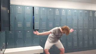 Yeeting in my local YMCA's boys locker room after hitting the sauna at approximately 1pm