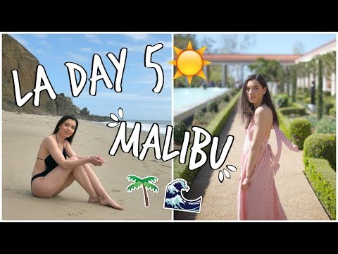 LA DAY 5! Malibu and Melrose Ave