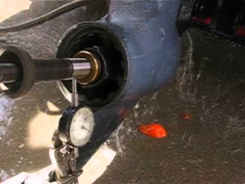 Yamaha Sterndrive Propshaft Runout Test