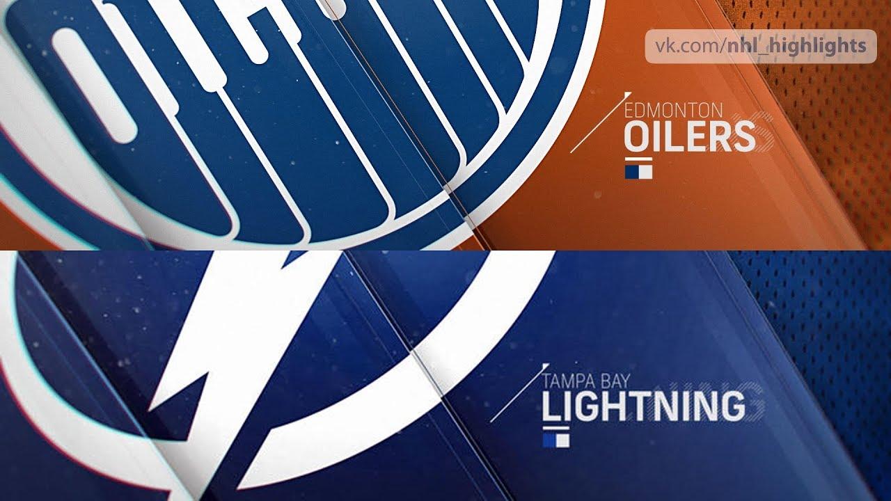 Edmonton Oilers Vs Tampa Bay Lightning Nov 6 2018