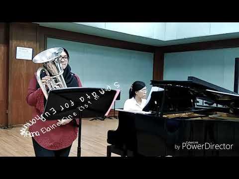 Audition Recital Euphonium