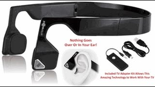 AfterShokz Wireless TV Listening System for Moderate to Severe Hearing Impairment