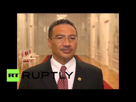 """Russia: Malaysian Def Minister """"much more relieved"""" after MH17 talks in Moscow"""