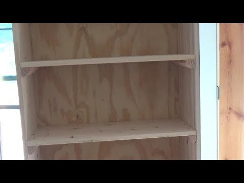 How To Build A Shelving Unit   DIY Cabinet   DIY Cabinet Doors