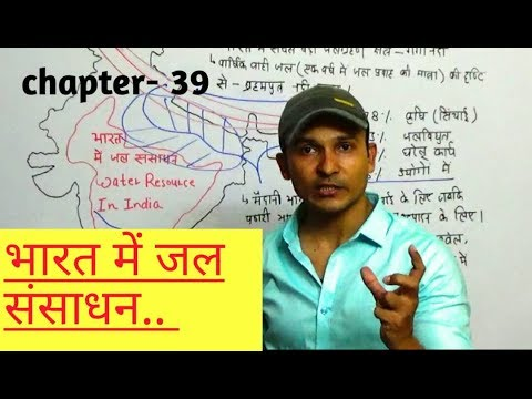 INDIAN GEOGRAPHY | WATER RESOURCE IN INDIA IN HINDI FOR ALL