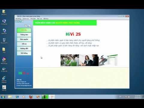 HiVi 2S 2010 - Hướng dẫn tải (download) và cài đặt phần mềm