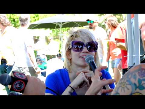 Grimes Interview w/ Hilary Live From Coachella