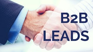 How To Get High-Value B2B Leads