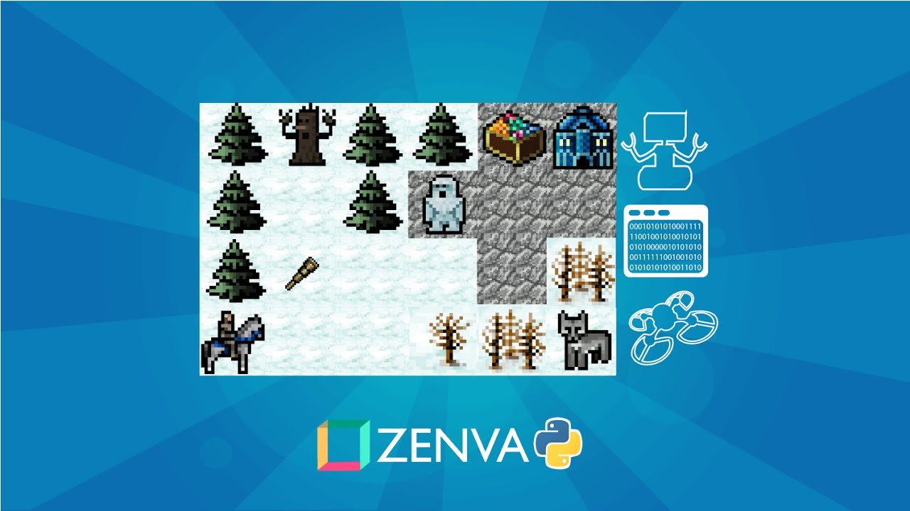 Web Class: Using Python for game development with Pygame – Zenva