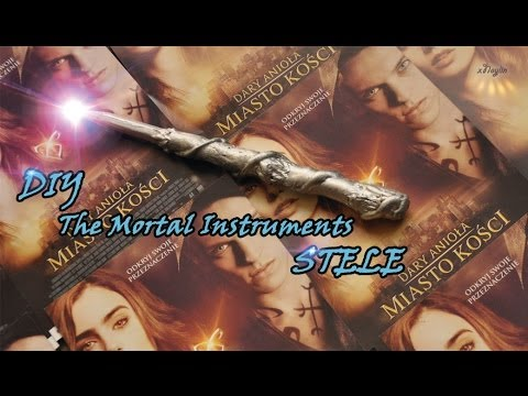 DIY STELE    SHADOWHUNTER     The Mortal Instruments