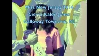 Miss New Jersey 2014, Cierra Kaler-Jones Crowned in Ocean City