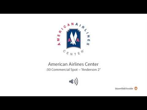 "American Airlines Center -- ""Anderson 2"" (:30 Radio Spot)"