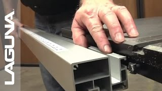 Laguna Tools Fusion Tablesaw Setup - Fence And Table Extension And Options - Part 17 Of 18
