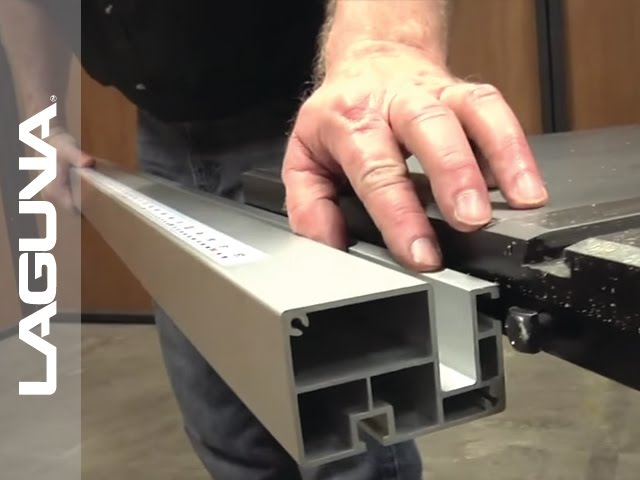 Fusion Tablesaw Setup - Fence and Table Extension and Options - Part 17 of 18