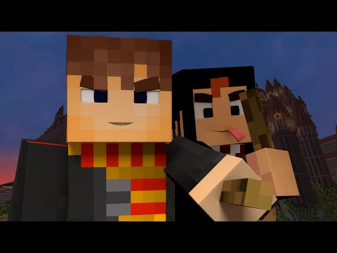BECOME A WIZARD! - Harry Potter in Minecraft (Interactive Roleplaying) w/ GizzyGazza Ep 2