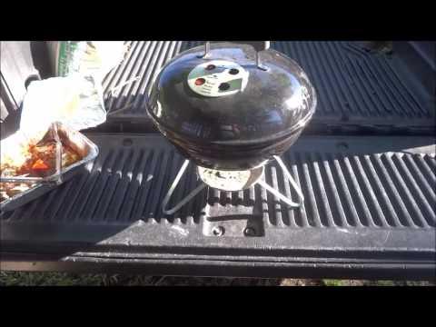 Smoked Pork Butt on the Weber Smokey Joe