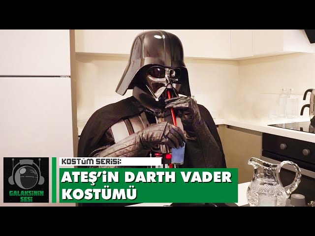 Kostüm serisi: Ateş'in Darth Vader kostümü