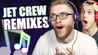 REACTING TO THE BEST JET CREW REMIXES