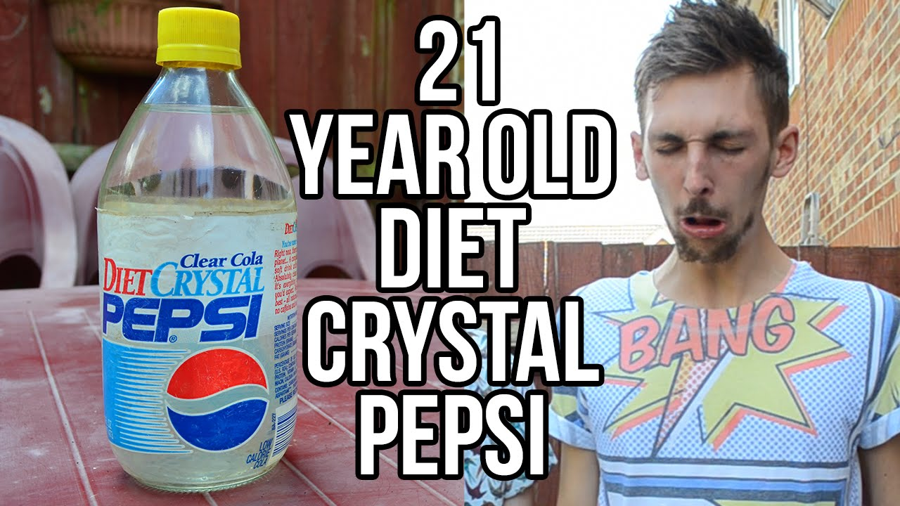 Drinking 21 Year Old Diet Crystal Pepsi | Crystal Pepsi | Know Your Meme