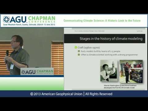 AGU Chapman Conference -- Climate Science: Paul Edwards