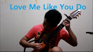 Love Me Like You Do  (Ellie Goulding) Fingerstyle Guitar