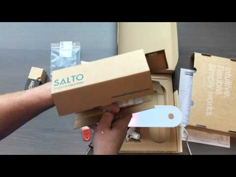 SaltoKS / Clay IQ and geo cylinder lock installation