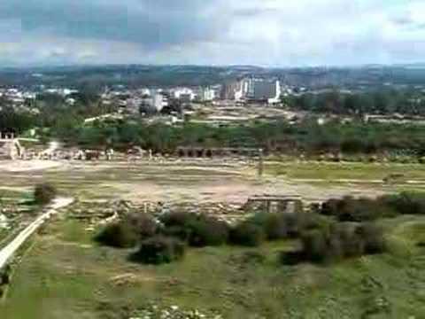 Tyre, Lebanon Panorama - Al Bas Ruins