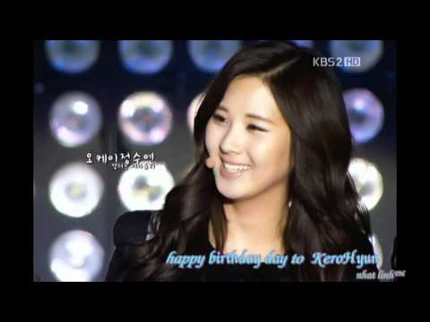 happy birthday seohyun 2012