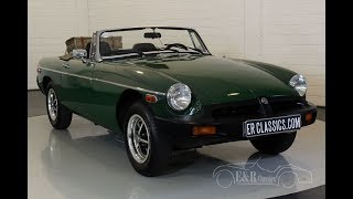 MG B cabriolet 1978-VIDEO- www.ERclassics.com