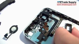 The most complete and detailed iPhone 4(CDMA) assembly video ever!(Part one)