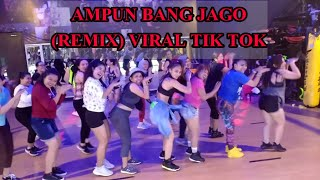 Download lagu AMPUN BANG JAGO , VIRAL TIK TOK remix By Tian storm x ever slkr - ZUMBA  - RULYA MASRAH
