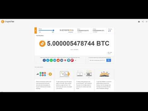 Hack Cryptotab Mining BTC 100% Work