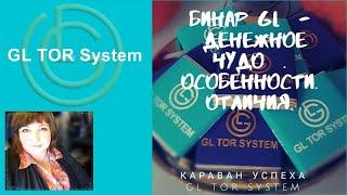 GL TOR System Бинар Денежное ЧУДО Особенности  Отличия