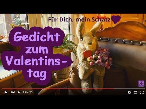 FG151 ❤ Gedicht Zum Valentinstag ❤ Video Zum Valentinstag ❤ Grüße Zum  Valentinstag ❤