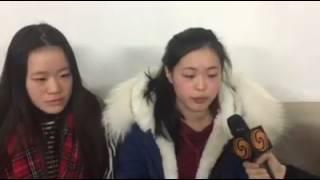 Homme chinois tué par la police, ses filles témoignent!