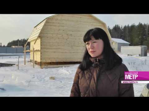 Компании «Алмаз 2000»: преимущества возведения дома из бруса в зимний период