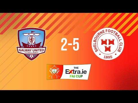 Extra.ie FAI Cup Second Round: Galway United 2-5 Shelbourne