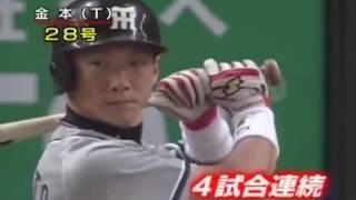 金本知憲の2005年の本塁打集です。 金本知憲(2005) BA.327 40HR 125RBI ...