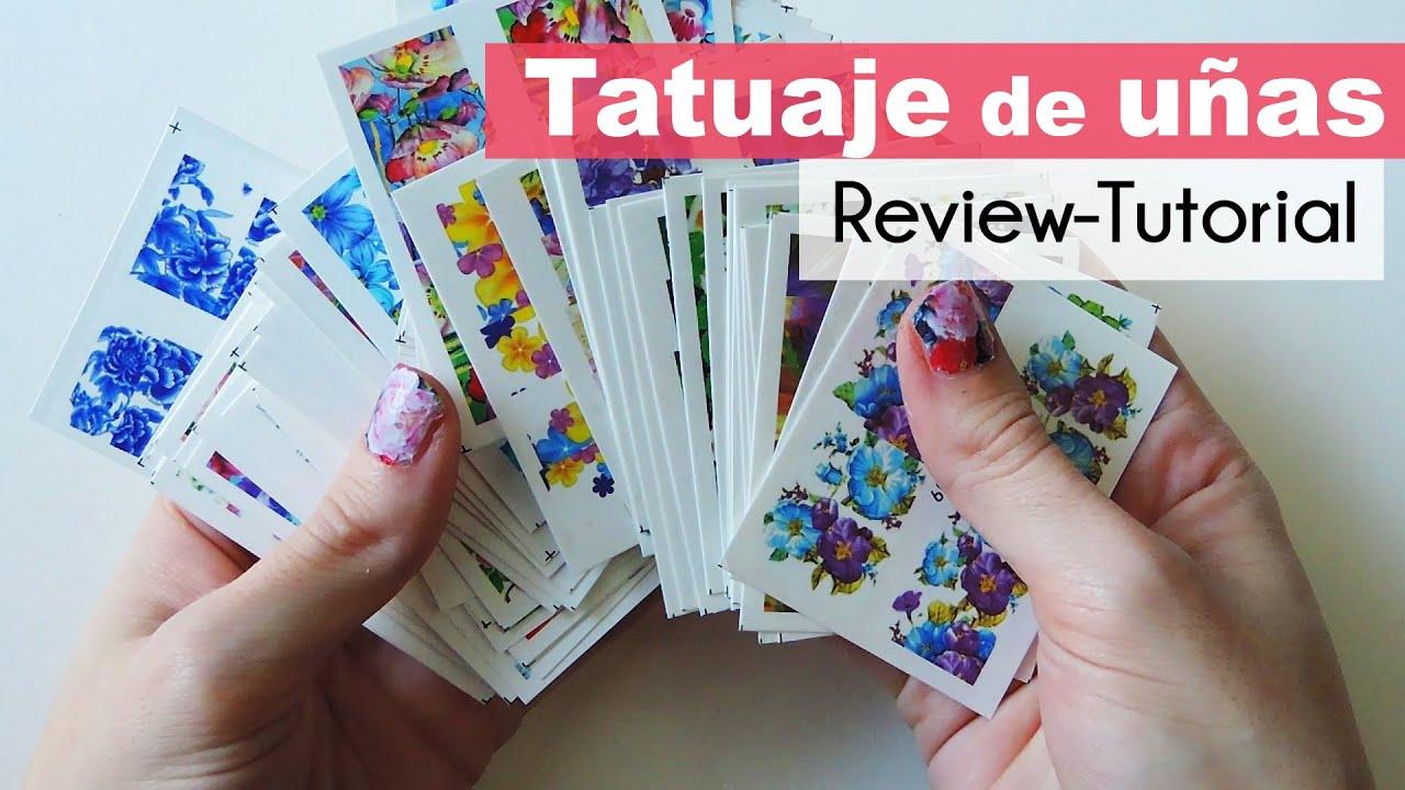 Como Aplicar Tatuajes Para Uñas Chinos Tattoo Nails