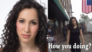 10 hours walking in NYC as a woman star Shoshana Roberts sues video makers for $500,000 - TomoNews