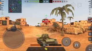 World of tanks Blitz Bitwa kv1