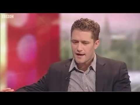 Glee's Matthew Morrison interview on BBC Breakfast