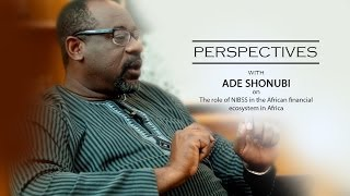 Perspectives| NIBSS and financial ecosystem in Africa - Ade Shonubi